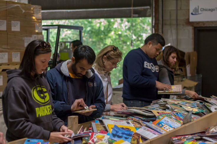 Make A Difference Day 2013: Bernie's Book Bank