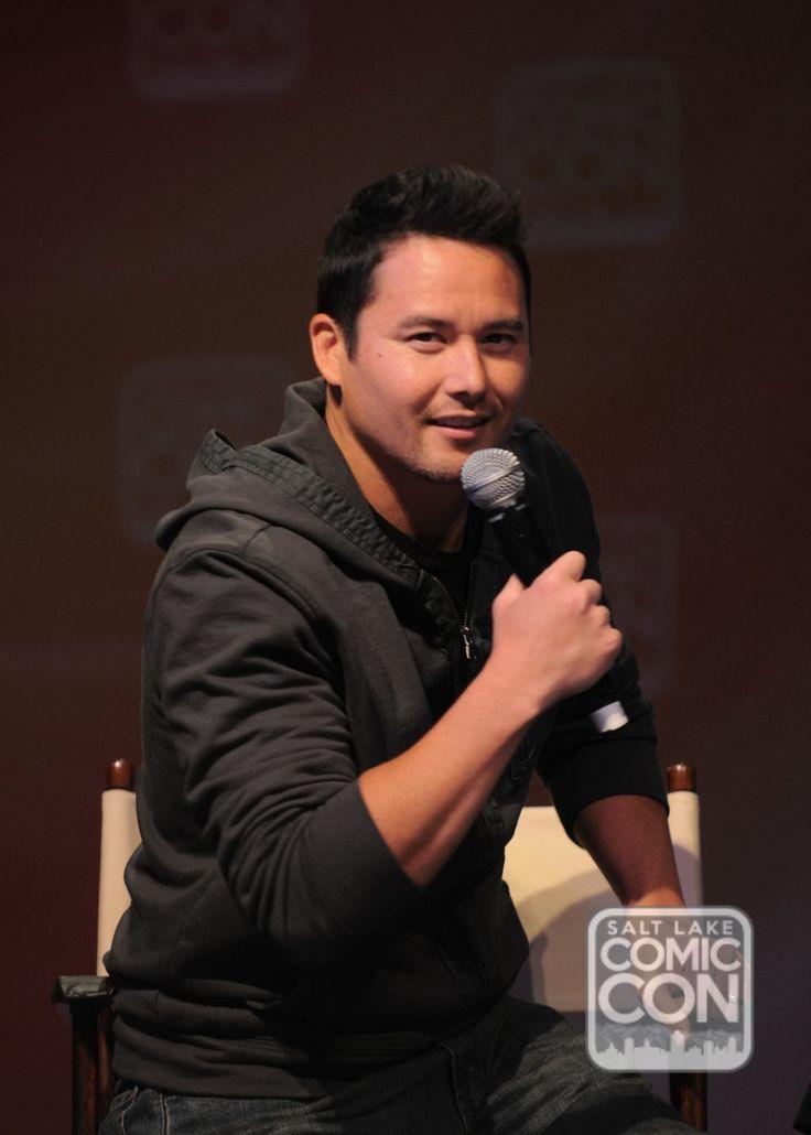 Johnny Yong Bosch at his Salt Lake Comic Con 2014 panel.