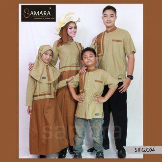 Baju Couple Ibu Bapak Anak, Baju Couple Online Ukuran Besar, samara