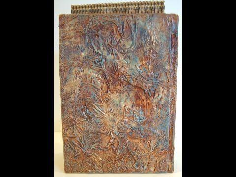 Tissue Paper Texture Technique Tutorial - YouTube