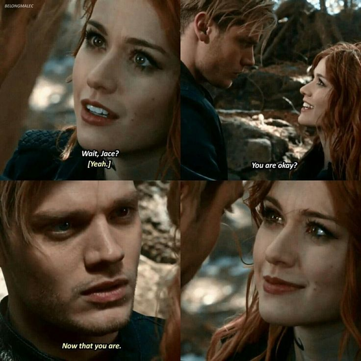 """#Shadowhunters 2x16 """"Day of Atonement"""" - Jace and Clary"""