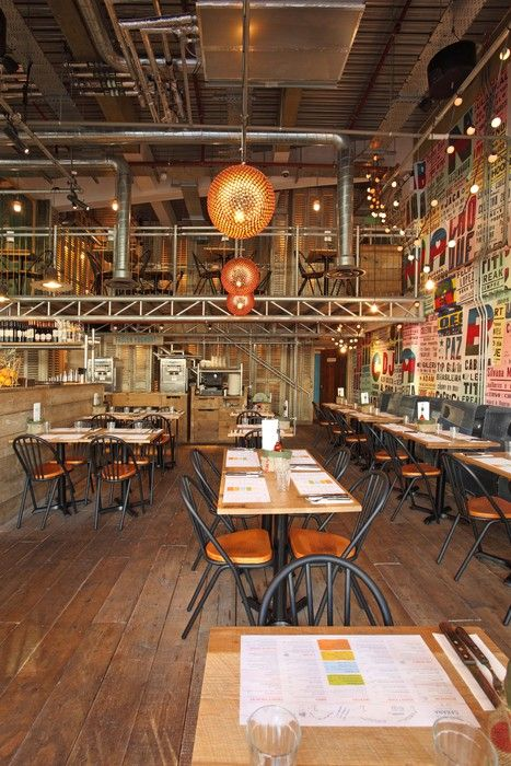 cabana stratford uk michaelis boyd restaurant and bar design awards industrial cafeindustrial interior