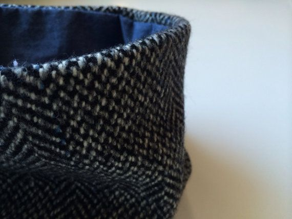 Reversible Cowl (Toddler & Baby Available) - chambray/herringbone OOAK on Etsy, $12.00 CAD