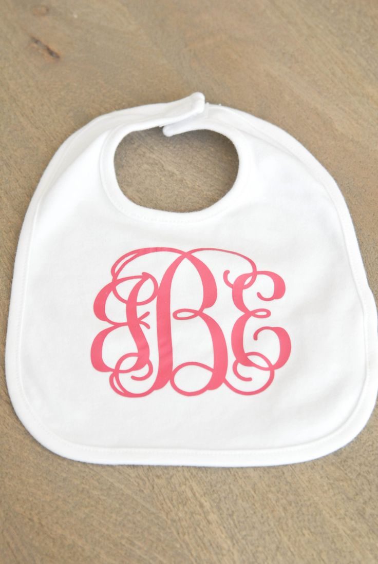 Heat Transfer Vinyl Monogram by sweett655 on Etsy https://www.etsy.com/listing/224102726/heat-transfer-vinyl-monogram