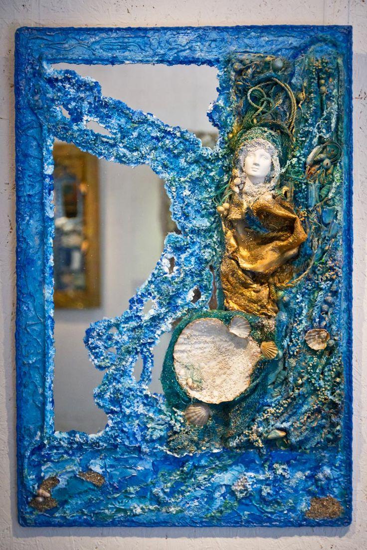 Lady Sea Guard by Nina Nikiforova, made from waste ...