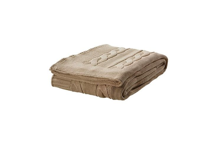 Ursula Throw in Beige, $29.99I honestly can never resist a knit throw, and this one is no exception. It would be great at the foot of the bed or draped across the back of your favorite reading chair.