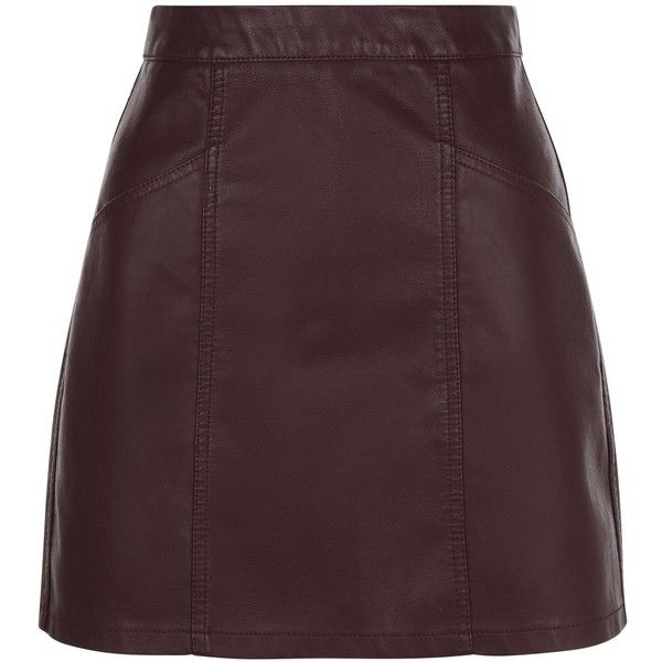 17 best ideas about burgundy skirt on leather