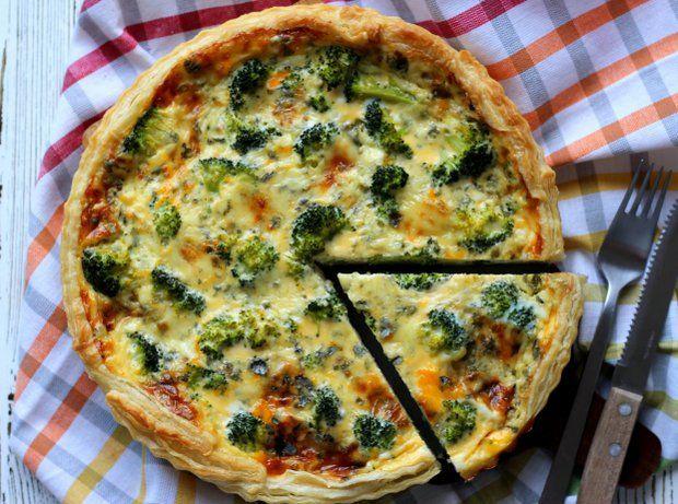 Quiche s modrým sýrem a brokolicí , Foto: archiv Papei