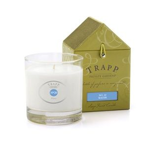 Best Scent EVER!!! Love Love Love!!! No 20 Water - 7oz Poured Candle | Trapp Candles