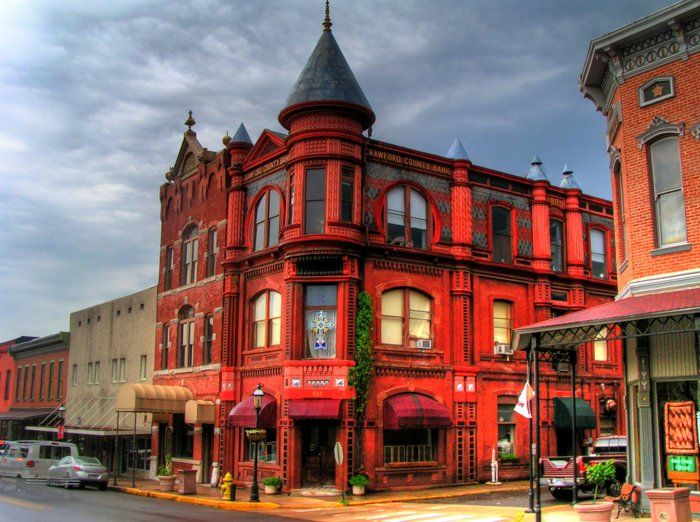 Crawford County Bank Building, Van Buren, photo from Capture Arkansas