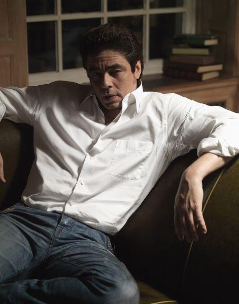 Benicio del Toro keep your hair short man! you look good that way