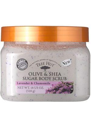 Tree Hut Olive & Shea Sugar Body Scrub in Lavender & Chamomile
