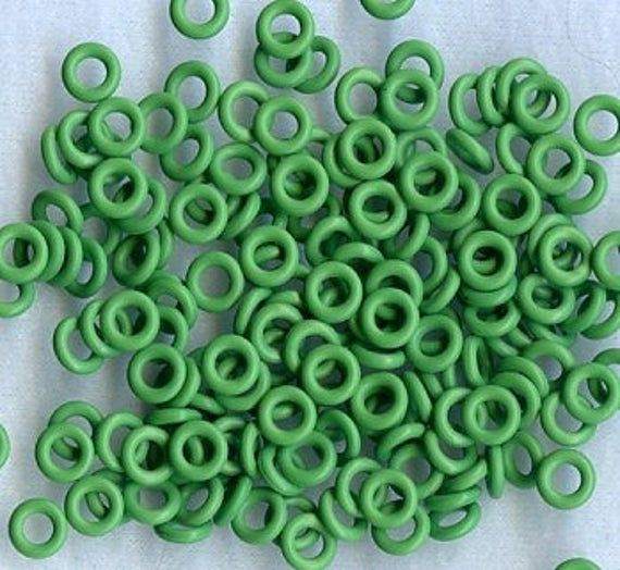 10mm Grass Green O Rings Green O Ring Green Grass