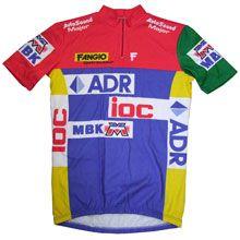 ADR/Fangio/IOC/MBK 1987 Team Jersey