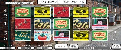 Love Coronation Street? Play the Corrie Slot for a share of teh jackpot. http://www.ballsandboxes.com/coronation-street-bingo/