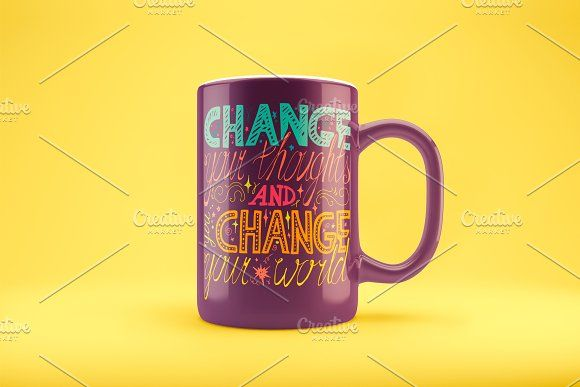 Change Your Thoughts by barsrsind on @creativemarket