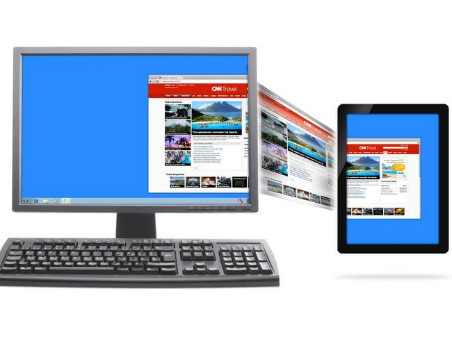 ScreenSlider , tu tablet como segundo monitor de tu PC