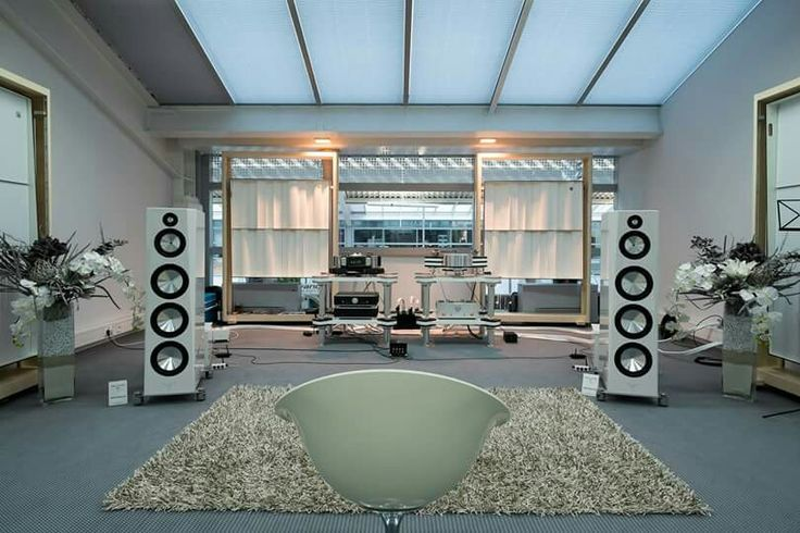 High end audio audiophile music listening room