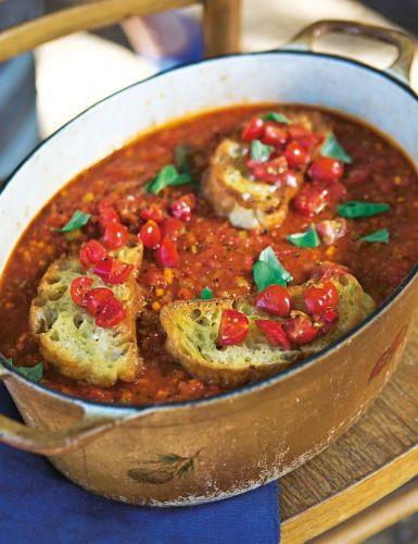 Pappa+al+Pomodoro+(Tomaten-Brot-Suppe)