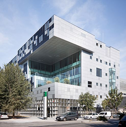 21 best offices architecture images on pinterest offices head office of the andalousian energy agency geode facde architects csar ruiz sciox Gallery