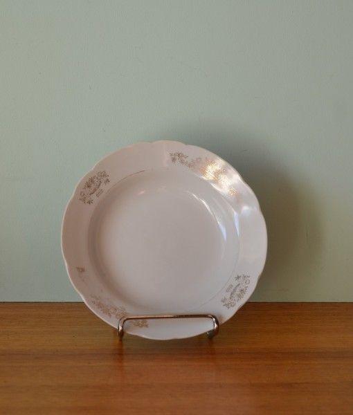 Vintage ceramic ET dessert bowl Japan