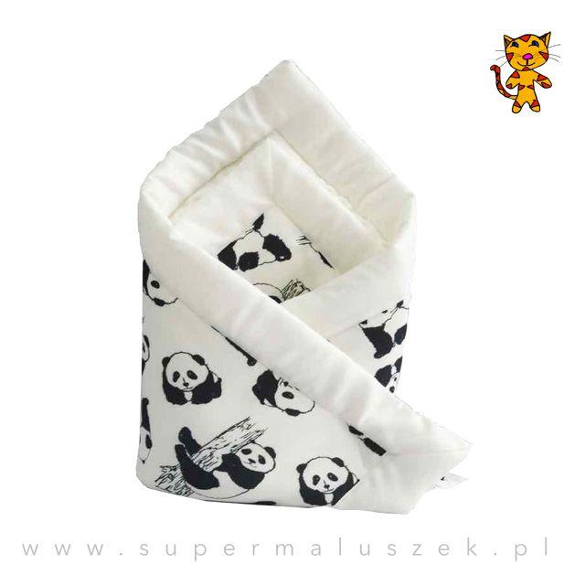 Bambusowy rożek dla niemowlaka. Piękny i ekologiczny prezent. #gift #newborn #baby #cute #eko #bamboo #panda #prezent #rozek #niemowle