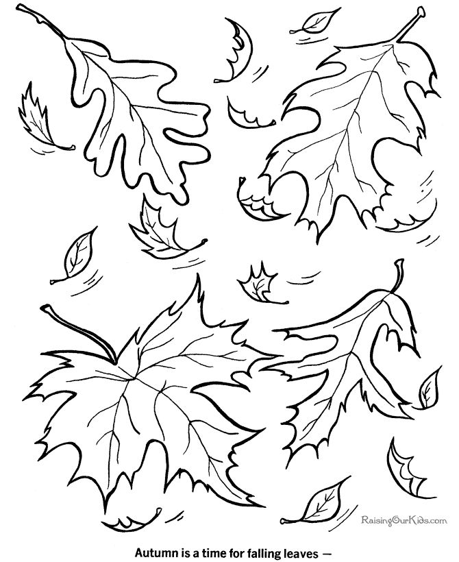 fallcoloringpagesprintable fall coloring picture - Fall Kids Coloring Pages