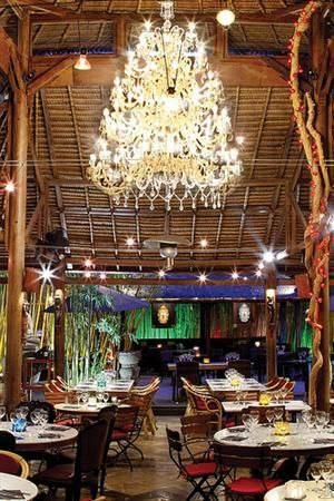 An iconic Ibiza restaurant to be sure... Bambuddha Grove, San Juan, Ibiza, Spain