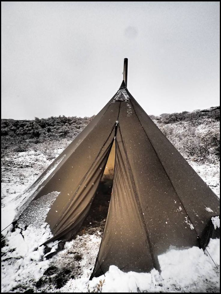 Kifaru ultralight tent/teepee/stoves - http://forums.bowsite.com