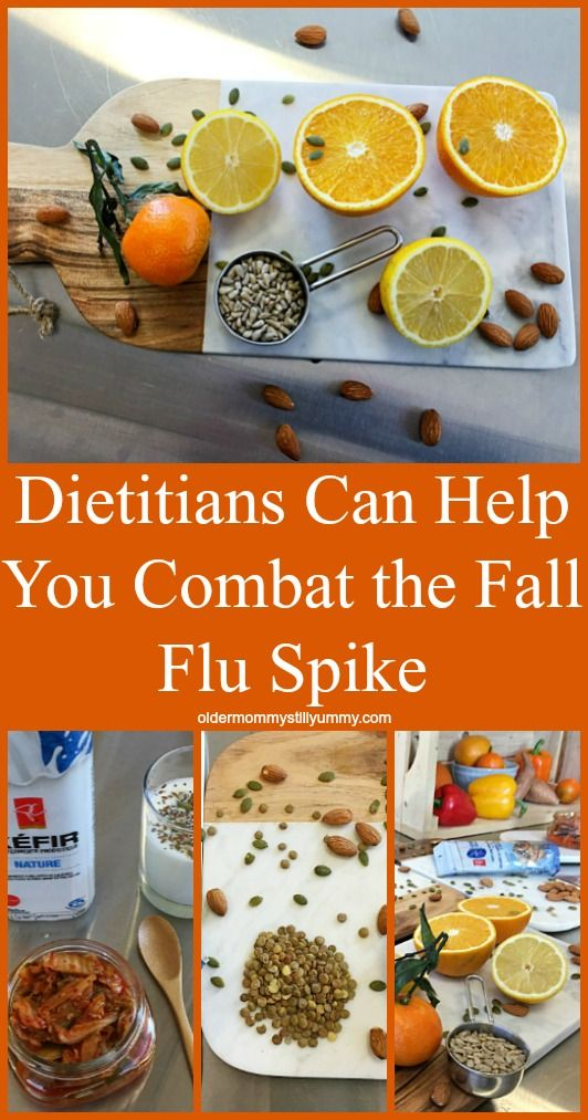 Dietitians Can Help You Combat the Fall Flu Spike {w/$100 Giveaway} - Older Mommy Still Yummy