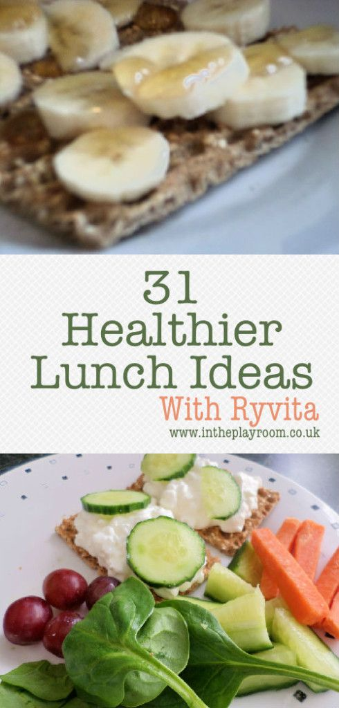 31 Ideas for healthy lunches throughout January with #Ryvita31Ways