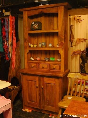 Lawless Furniture; Oak & Blond Walnut Dressar - http://www.dazzlemarket.com/ads/lawless-furniture-oak-blond-walnut-dressar/