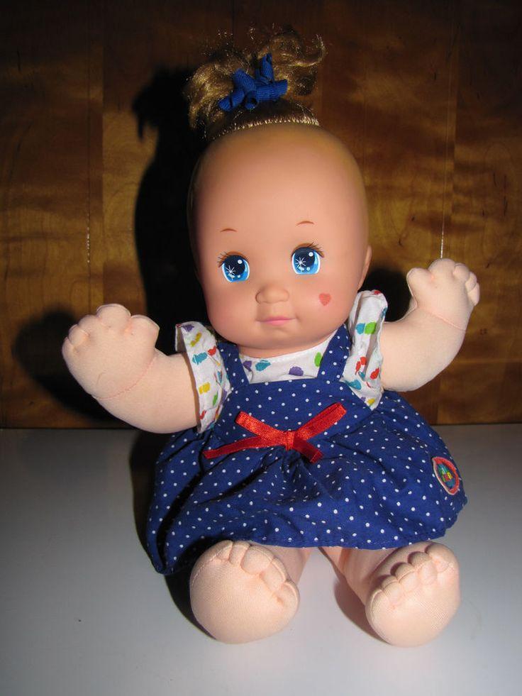 Baby Magic Nursery Vintage Mattel 1989 Doll in Original Dress #Dolls