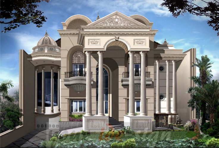 Model Rumah Moderen Klasik