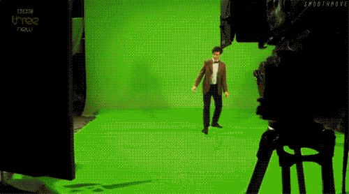"Doctor Who Matt Smith Eleventh Doctor dancing. Not the ""drunk giraffe"", but equally awkward. Love it."