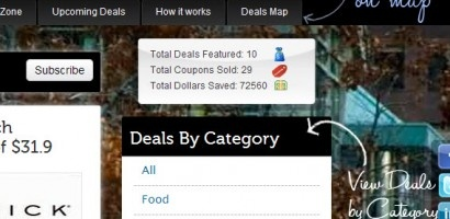 View Deals by Category
