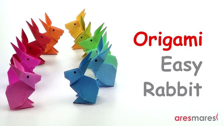 Origami Very Simple Rabbit (easy - single sheet) This is easy and cute!!! #origami #unitorigami #howtomake #handmade #colorful #origamiart #diy #doityourself #paper #papercraft #handcraft #paperfolding #paperfold #paperart #papiroflexia #origamifolding #instaorigami #interior #instapaper #craft #crafts #creative #hobby #оригами #折り紙 #ユニット折り紙 #ハンドメイド #カラフル #종이접기 #اوريغامي