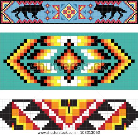 Native American Background Patterns