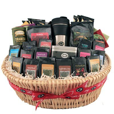 27 best coffee makes the perfect gift images on pinterest coffee the coffee connoisseur brimming with acombination of our arabica coffee creamy cocoas and a few othertreats this basket is the crme de la crme of all of negle Choice Image