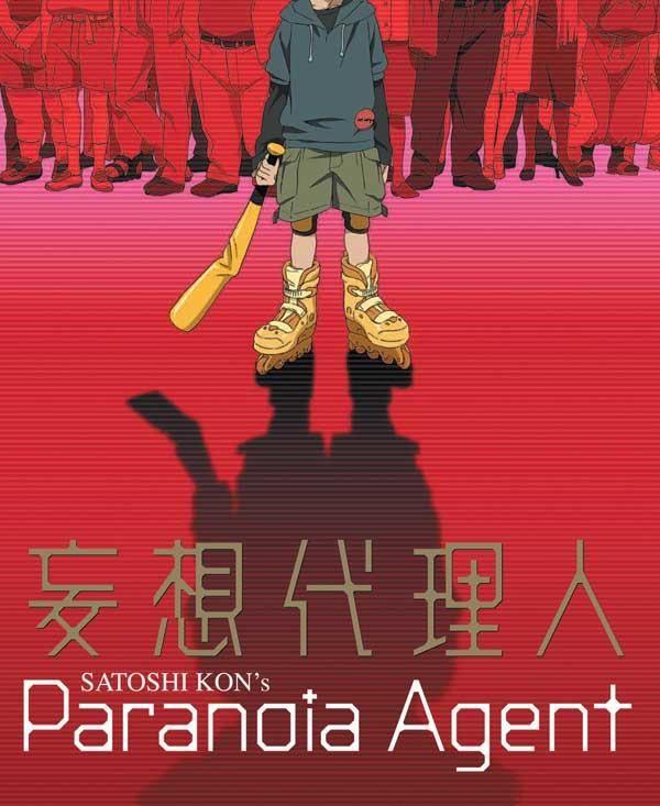 Paranoia Agent, 2004 - Satoshi Kon.  No es un película, es una serie que te vuela el cerebro. ¡Buenísima!
