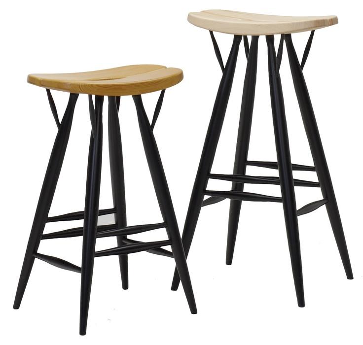 Pirkka stool by Finnish designer Ilmari Tapiovaara