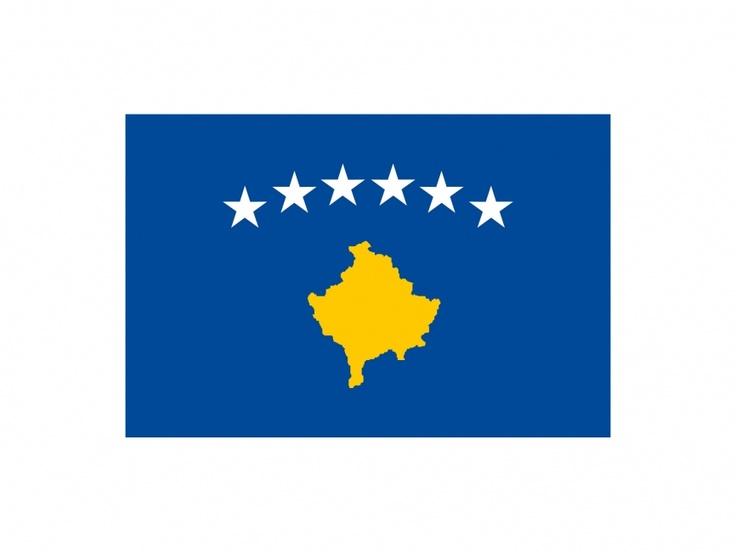 Kosovo Flag Vector Logo