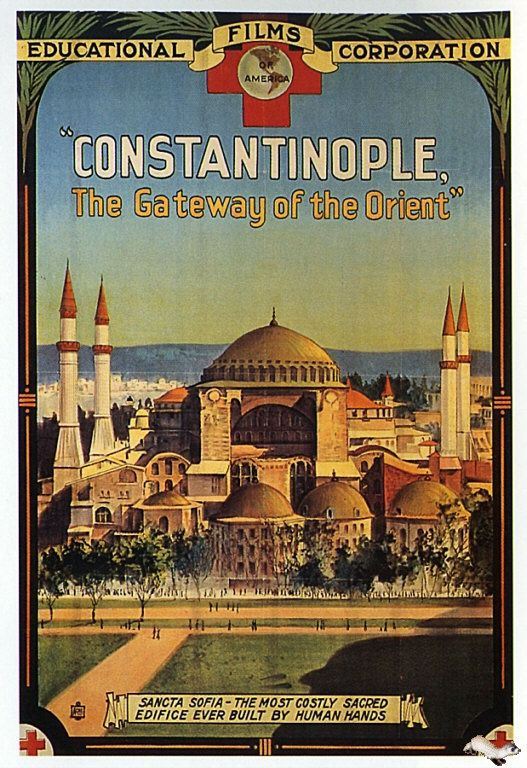 Constantinople( Istanbul) posterFollow me at www.joselito28.tumblr.com