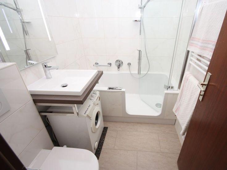 35 besten Kleine Badezimmer - mit Badewanne Bilder auf Pinterest - kleine badezimmer gestalten