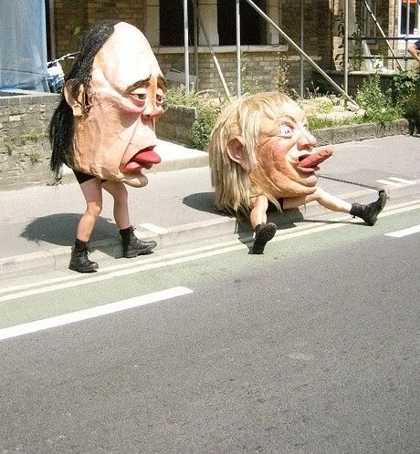 Giant Head Puppets