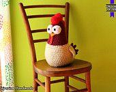 Big pollito - Cattivissimo Me 2 - amigurumi gigante - pollo el pollito - Despicable Me 2 - amigurumi over size - chicken