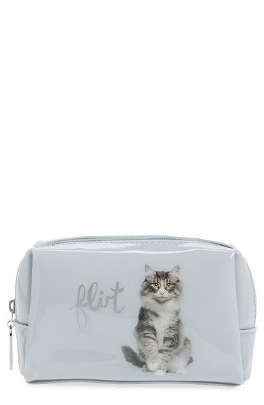 Catseye London 'Flirt' Small Cosmetics Pouch available at #Nordstrom