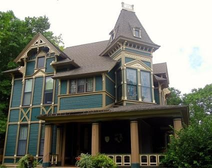 Victorian House Styles Include The Eastlake Design Like This 1882 House For  AE Stockwell