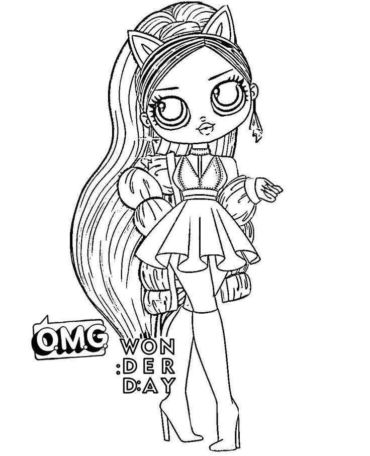 LOL OMG coloring page in 2020 Coloring pages, Kids