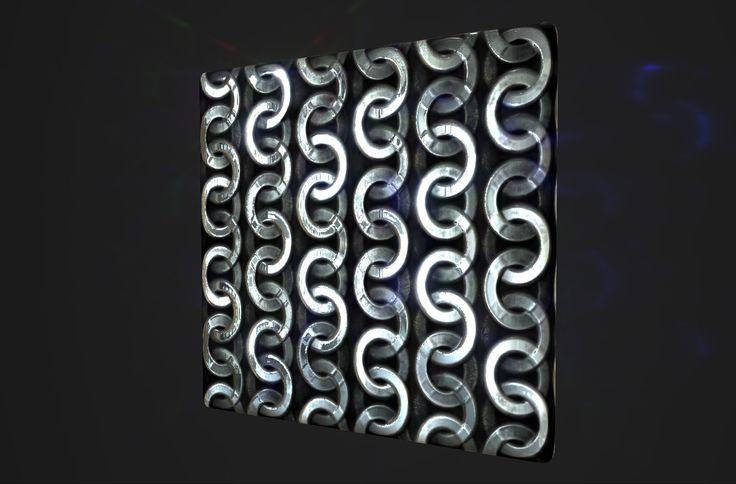 Substance Designer Metal Tile + add node clean metal  variation , inho kim on ArtStation at https://www.artstation.com/artwork/substance-designer-metal-tile-add-node-clean-metal-variation